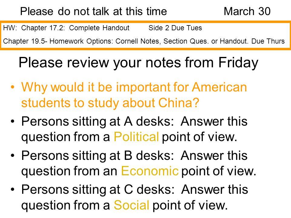 Please consider your homework… On Pg.