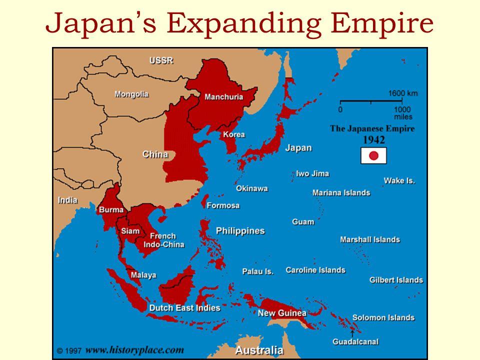 Japan s Expanding Empire