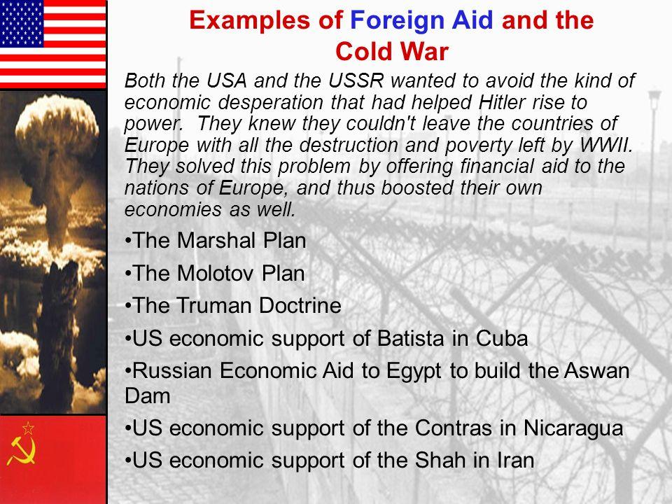 Marshall Plan- 1947 European Recovery Program.European Recovery Program.