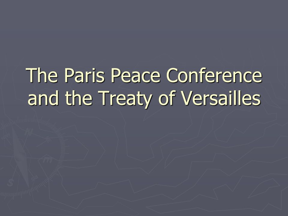 Please do not talk at this timeMarch 23 Dates to Note: Dates to Note: Test on WWI and the Treaty of Versailles Tues.