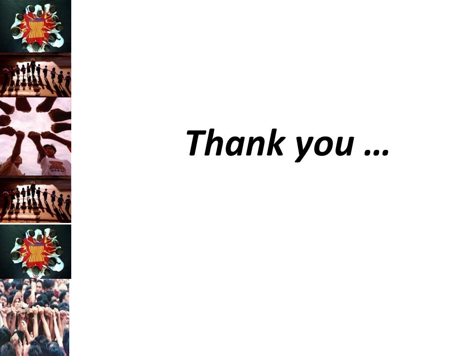 Thank you …