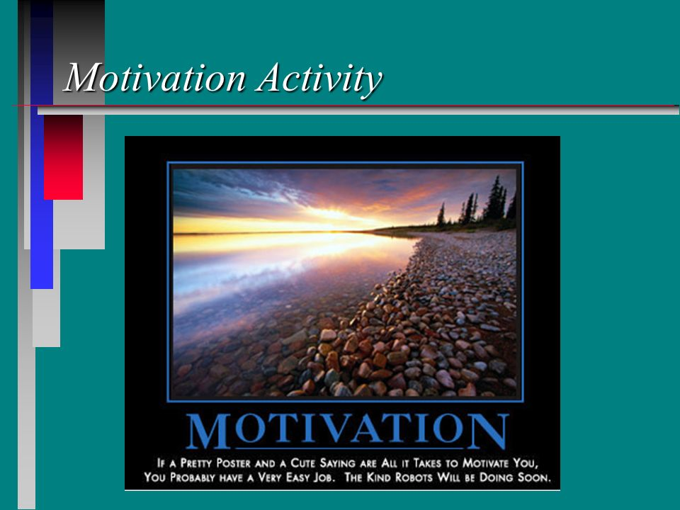 Motivation Activity
