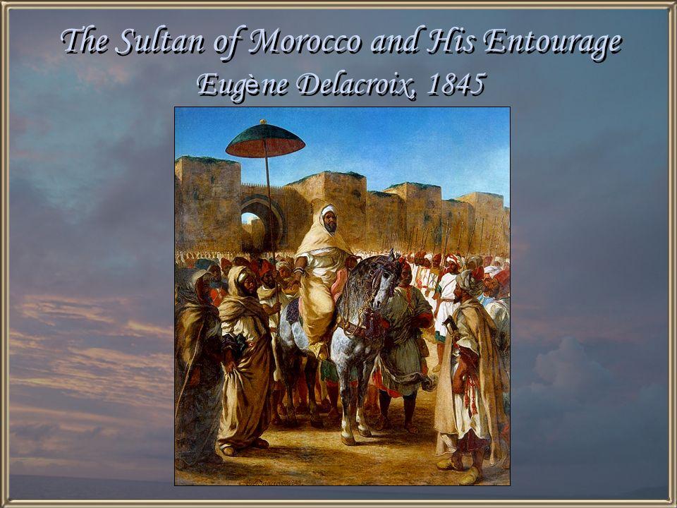 The Fanatics of Tangiers Eug è ne Delacroix, 1837-1838