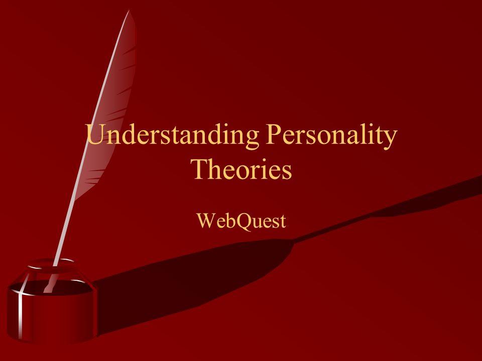 Understanding Personality Theories WebQuest