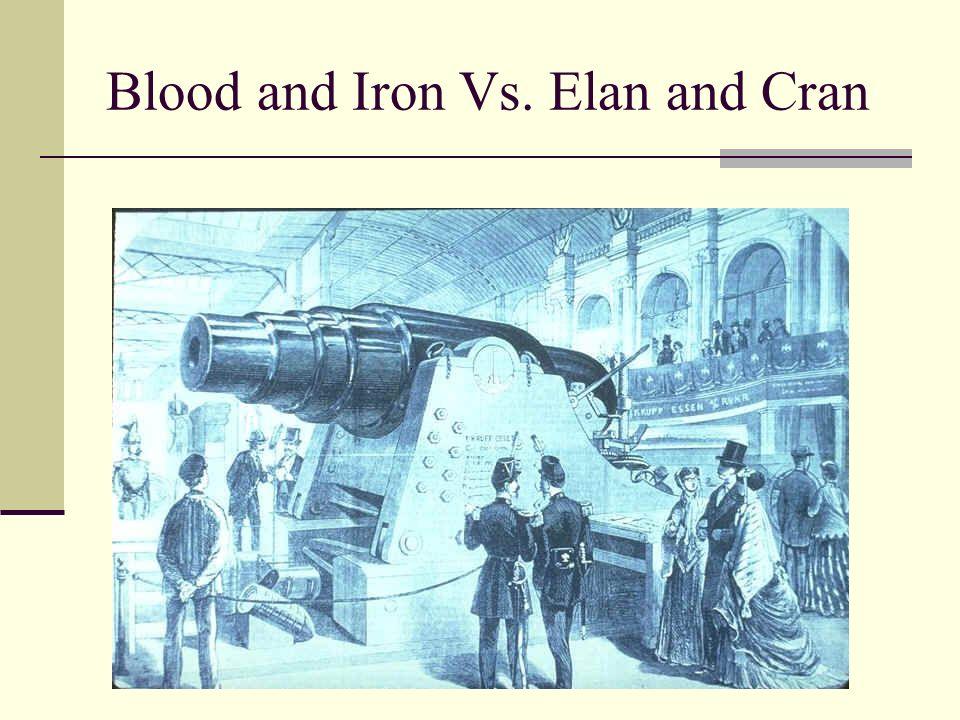 Blood and Iron Vs. Elan and Cran