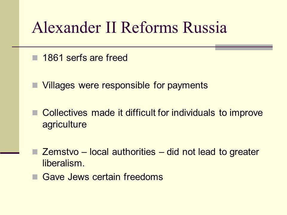 reforms of alexander ii essay