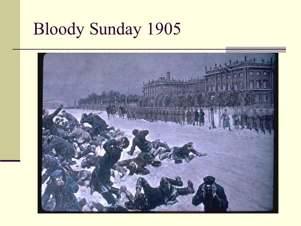 Bloody Sunday 1905