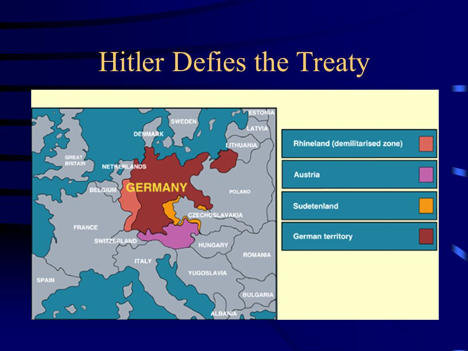 Hitler Defies the Treaty