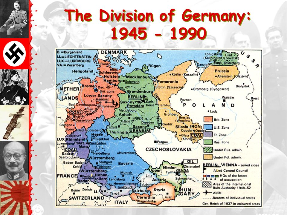 The Bi-Polarization of Europe: The Beginning of the Cold War Allied with USA Allied with USSR Other countries