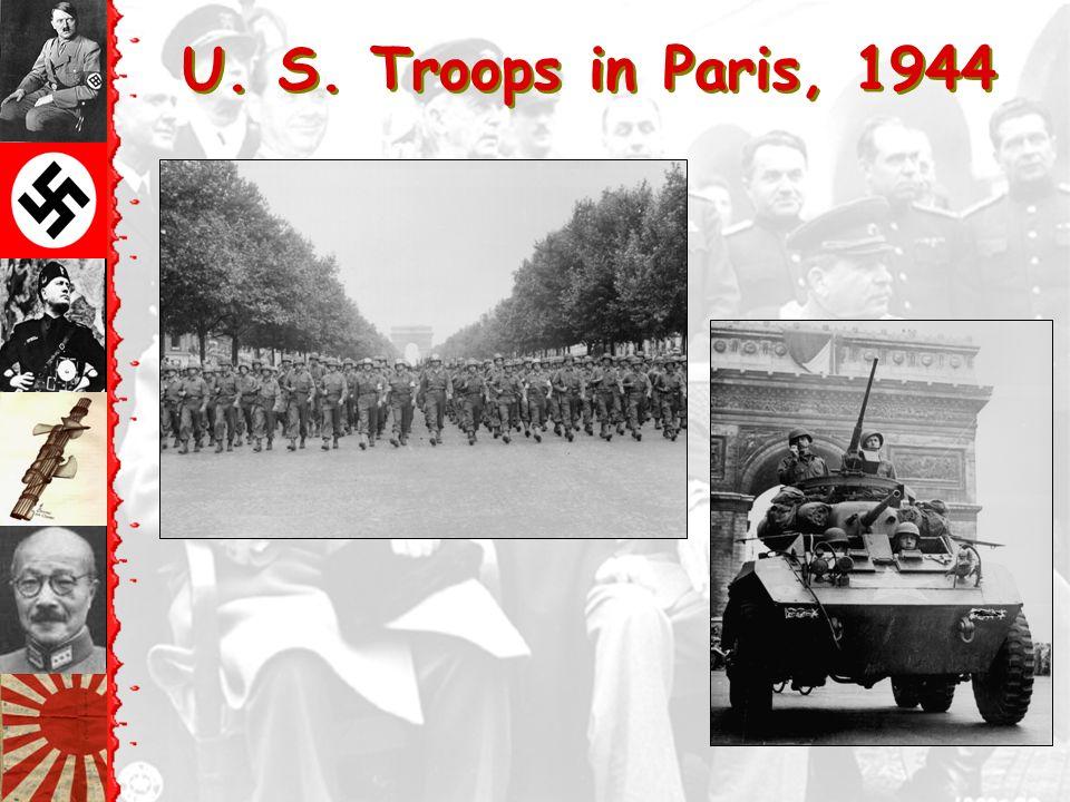 T The Liberation of Paris: August 25, 1944 De Gaulle in Triumph!