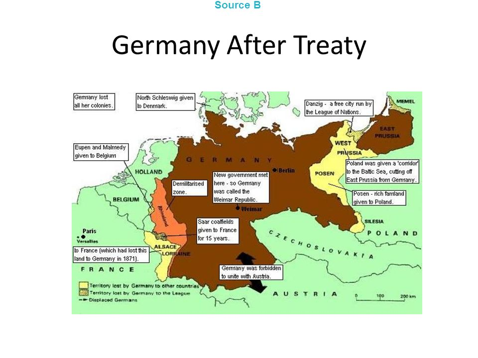 Germany After Treaty Source B
