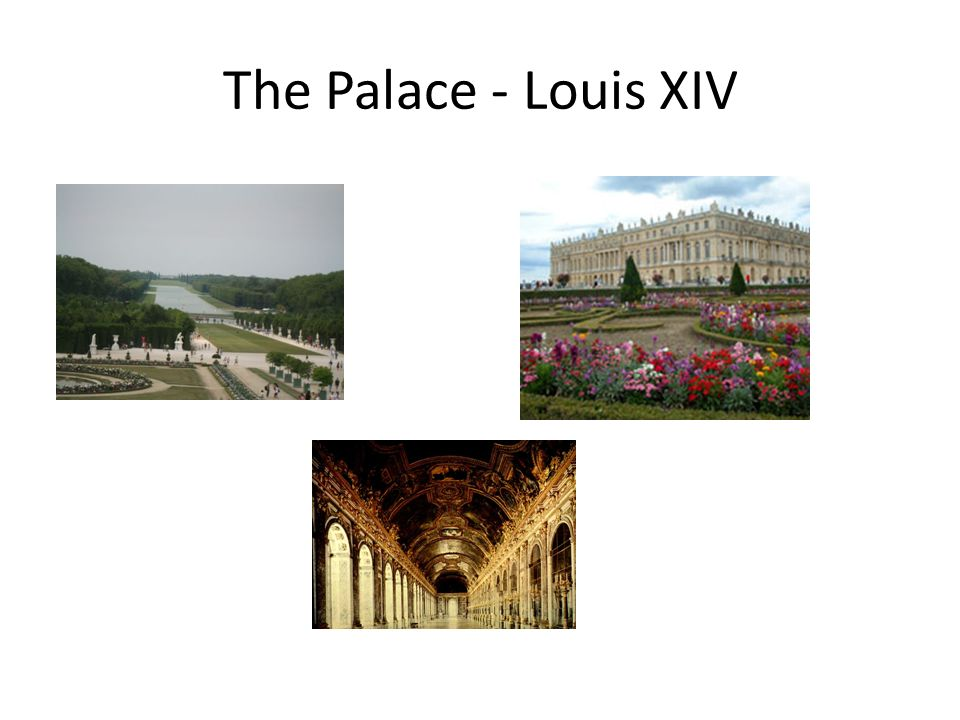 The Palace - Louis XIV