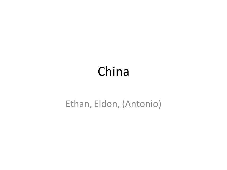 China Ethan, Eldon, (Antonio)