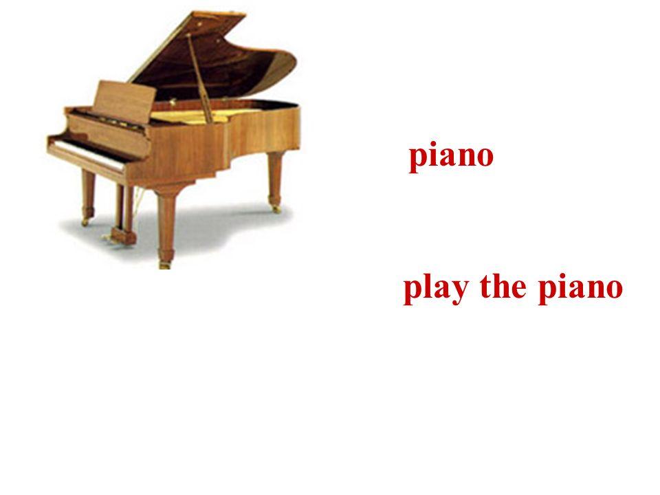 piano play the piano
