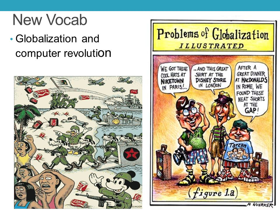 New Vocab Globalization and computer revoluti on
