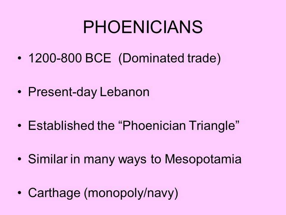 How would you describe the nature and extent of Phoenician expansion in the Mediterranean.