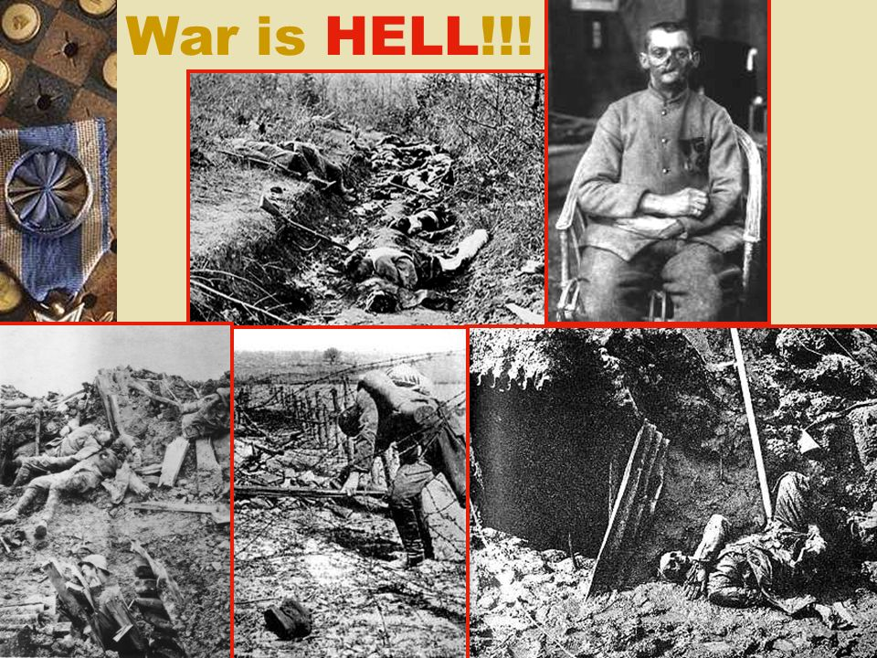 War is HELL!!!