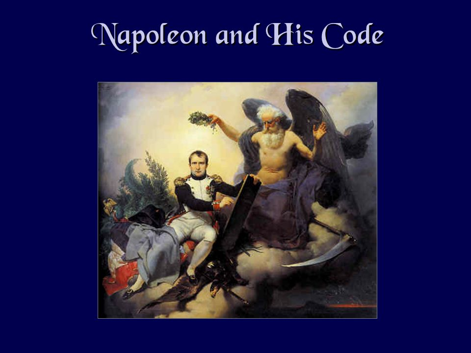 Napoleon and His Code