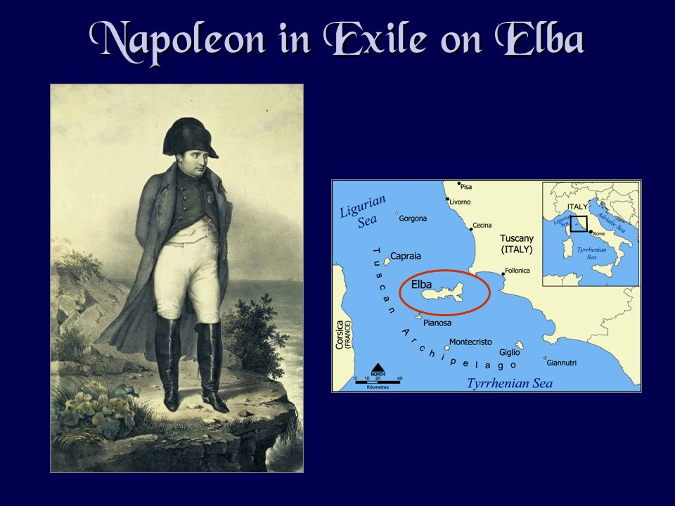Napoleon in Exile on Elba