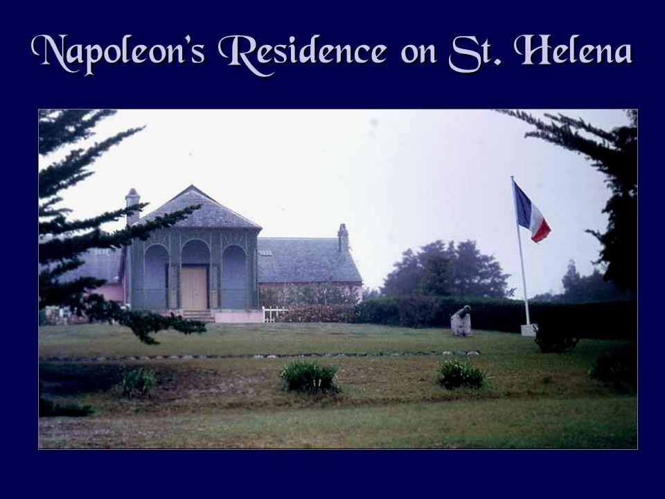 Napoleons Residence on St. Helena