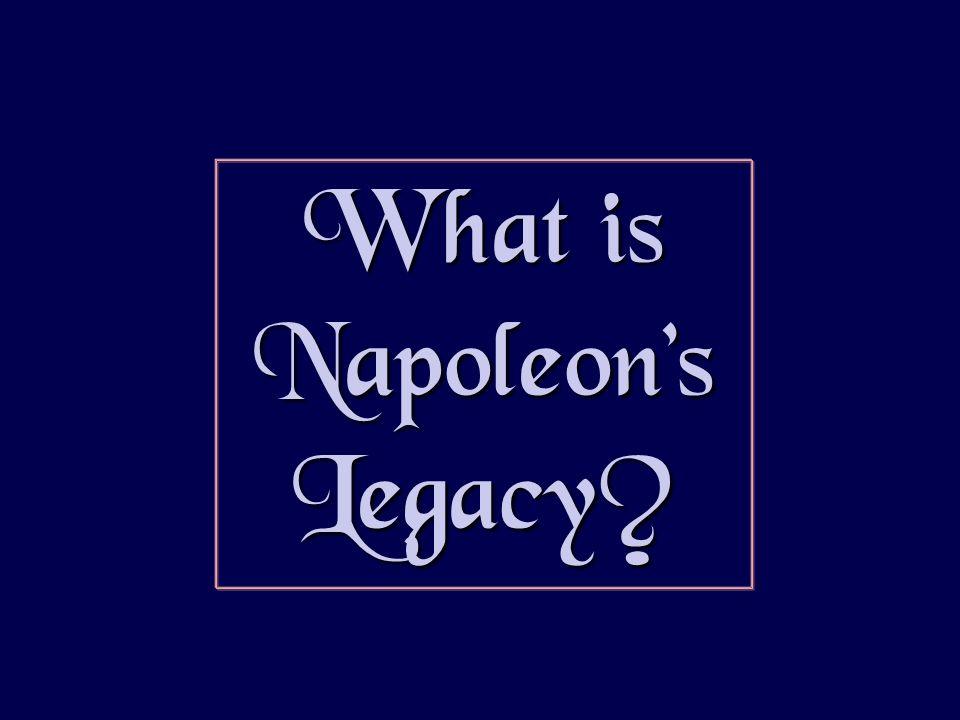 What is Napoleons Legacy?