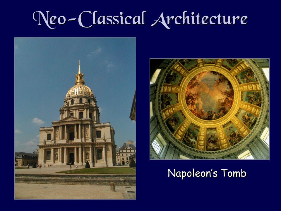 Neo-Classical Architecture Napoleons Tomb