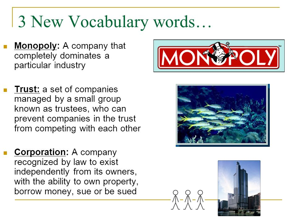 Corporate Monopolies Horizontal and Vertical Integration Textbook, page 171