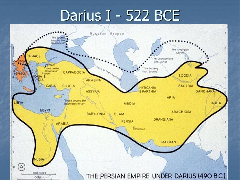 Darius I - 522 BCE