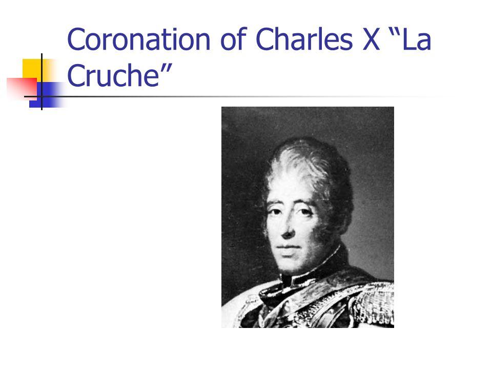 Coronation of Charles X La Cruche