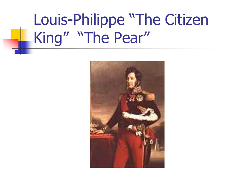 Louis-Philippe The Citizen King The Pear