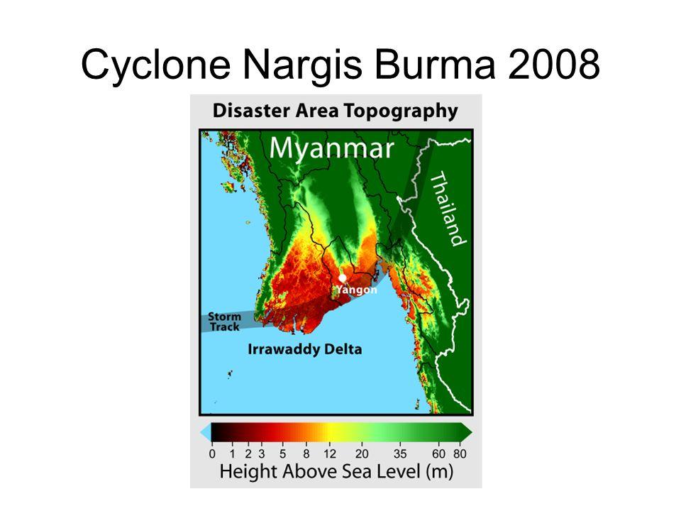 Cyclone Nargis Burma 2008