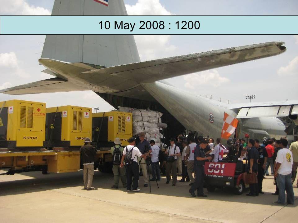 10 May 2008 : 1200