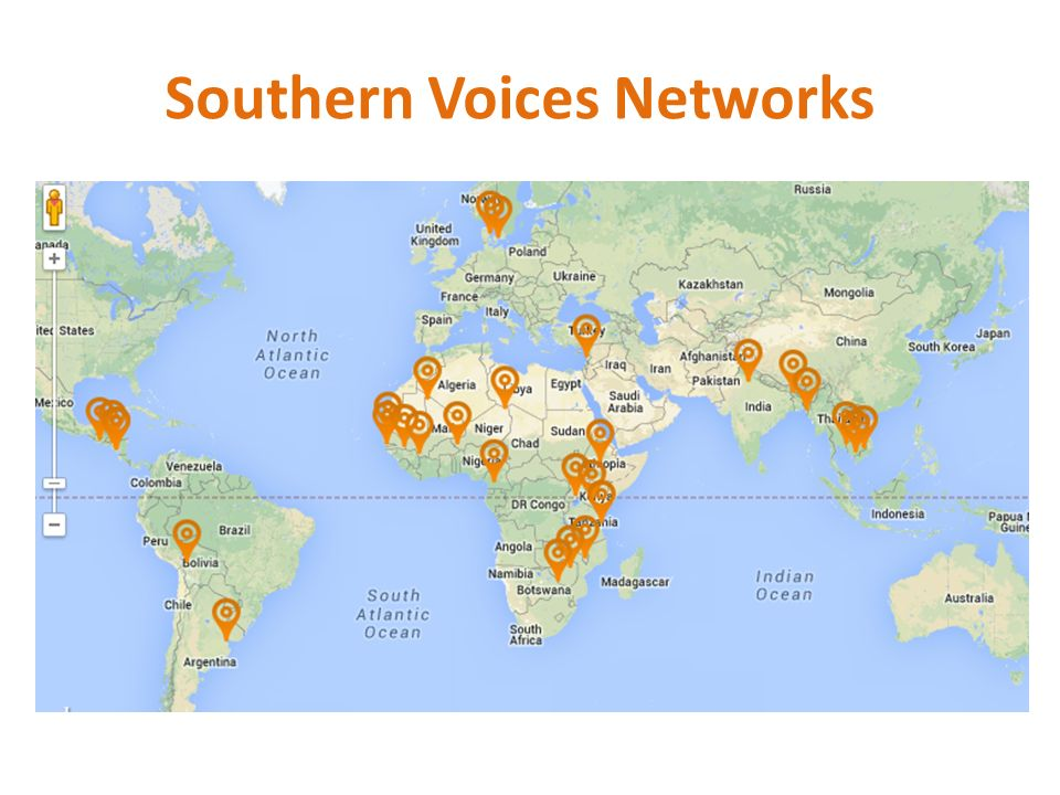 Southern Voices Networks