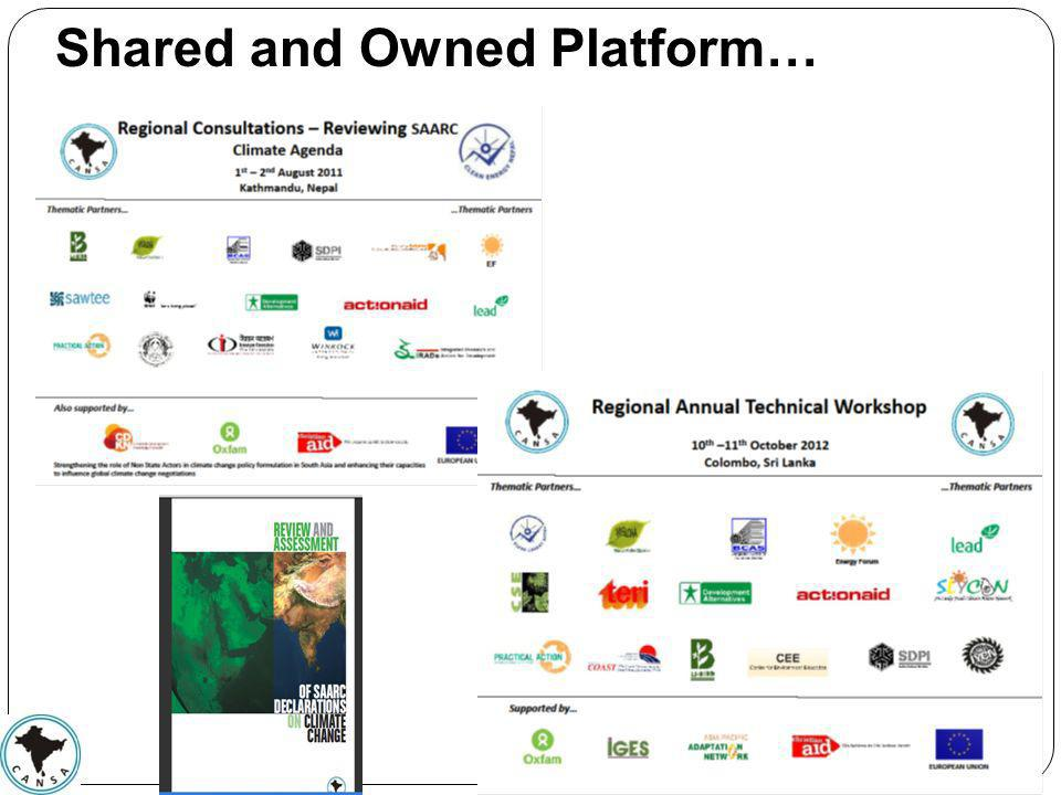 Shared and Owned Platform…