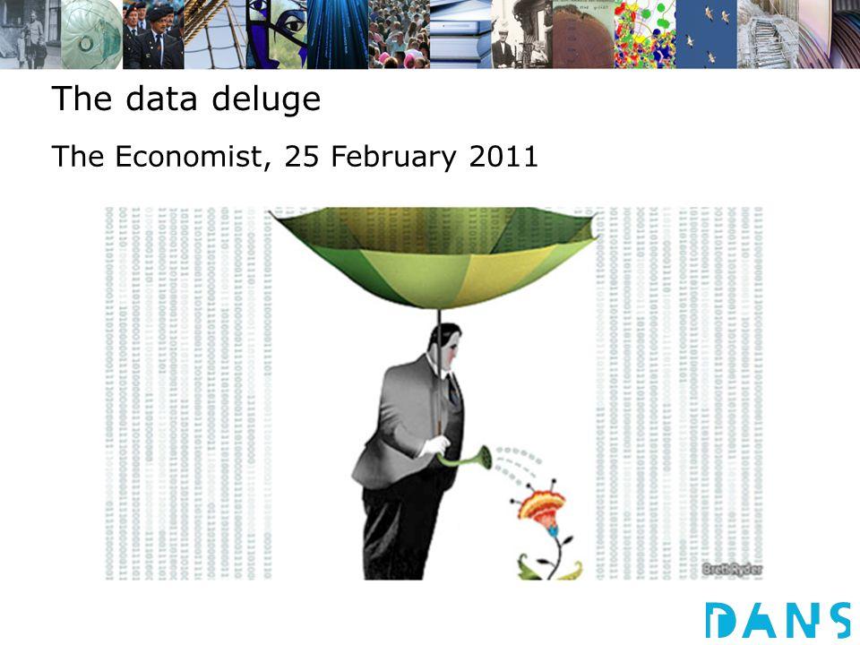 The data deluge The Economist, 25 February 2011