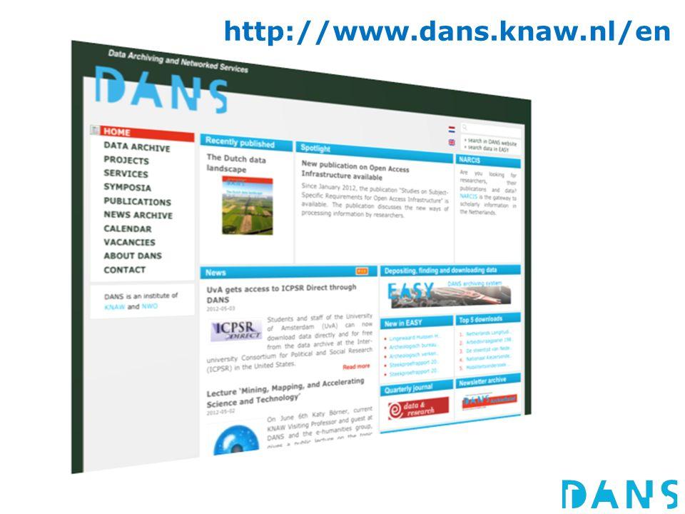 http://www.dans.knaw.nl/en