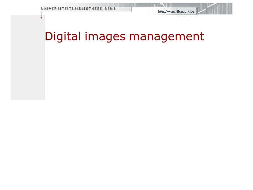 Digital images management