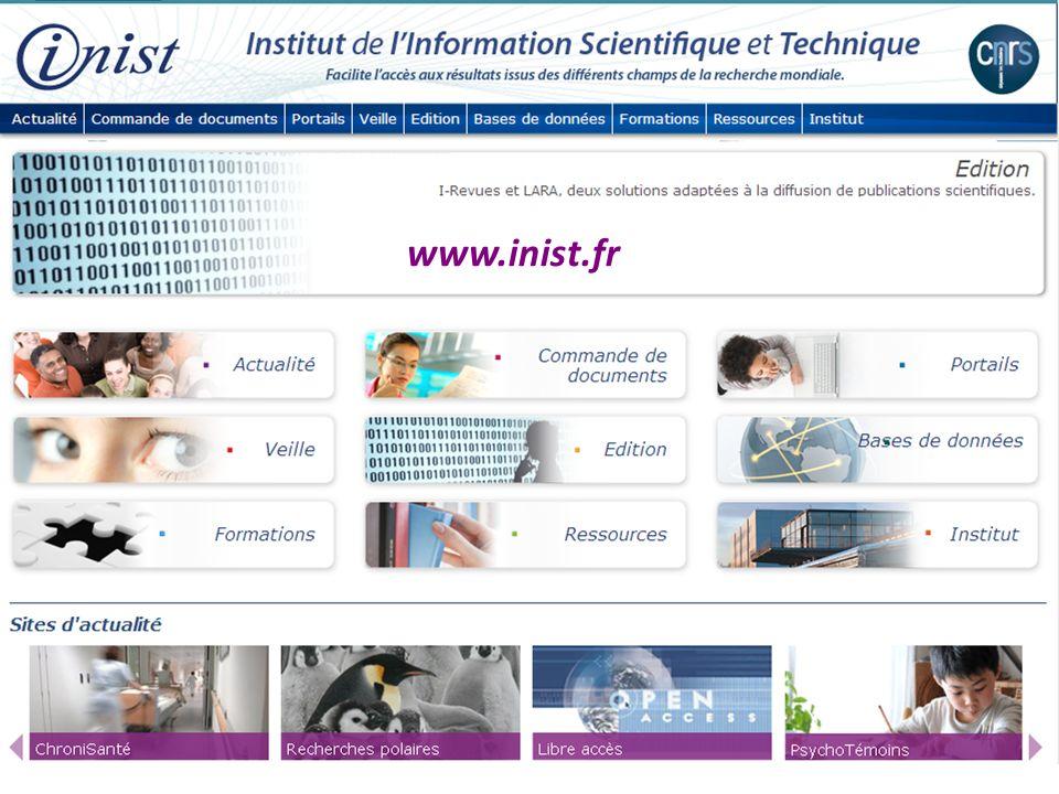 www.inist.fr