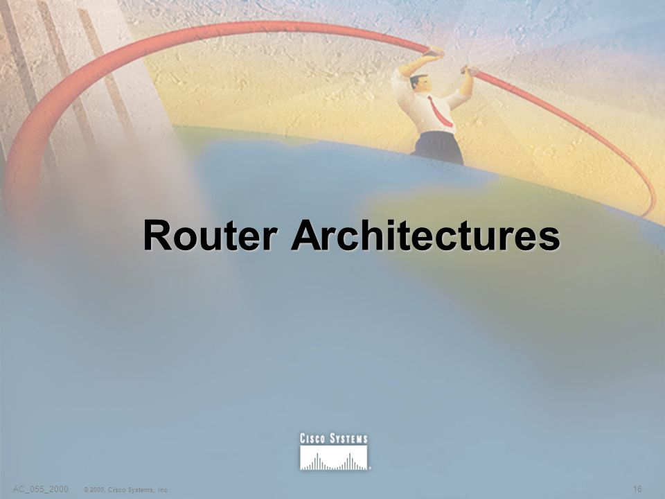 16AC_055_2000 © 2000, Cisco Systems, Inc. Router Architectures