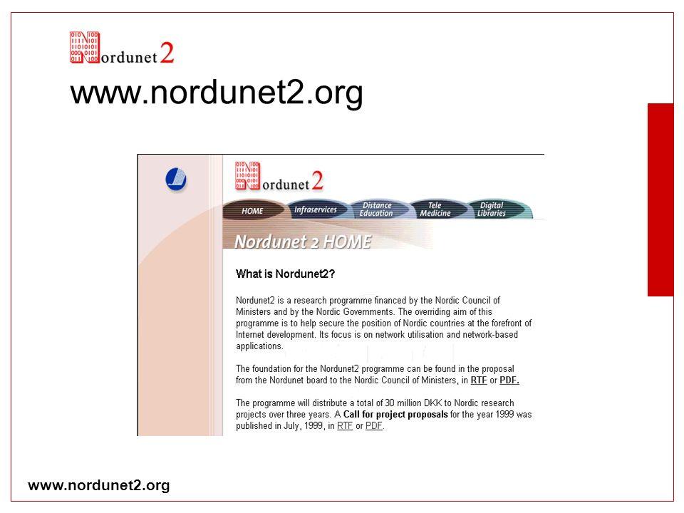 www.nordunet2.org