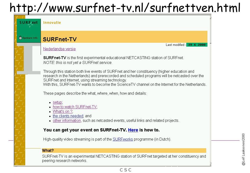 @Leif Laaksonen/2000 http://www.surfnet-tv.nl/surfnettven.html