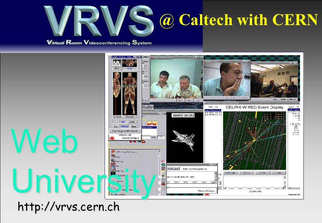 @Leif Laaksonen/2000 @ Caltech with CERN WebUniversity http://vrvs.cern.ch