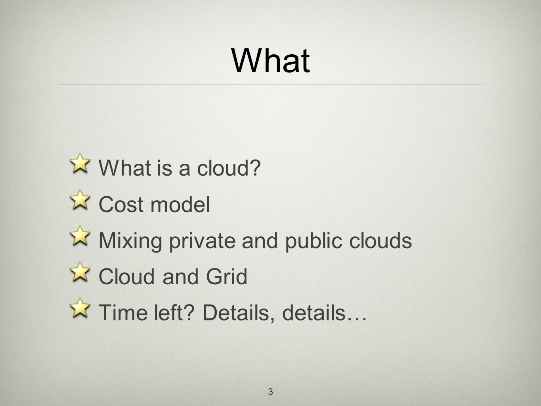 AWS, Eucalyptus 14 Your data, backup and restore Metadata, queues Data storage Public Private