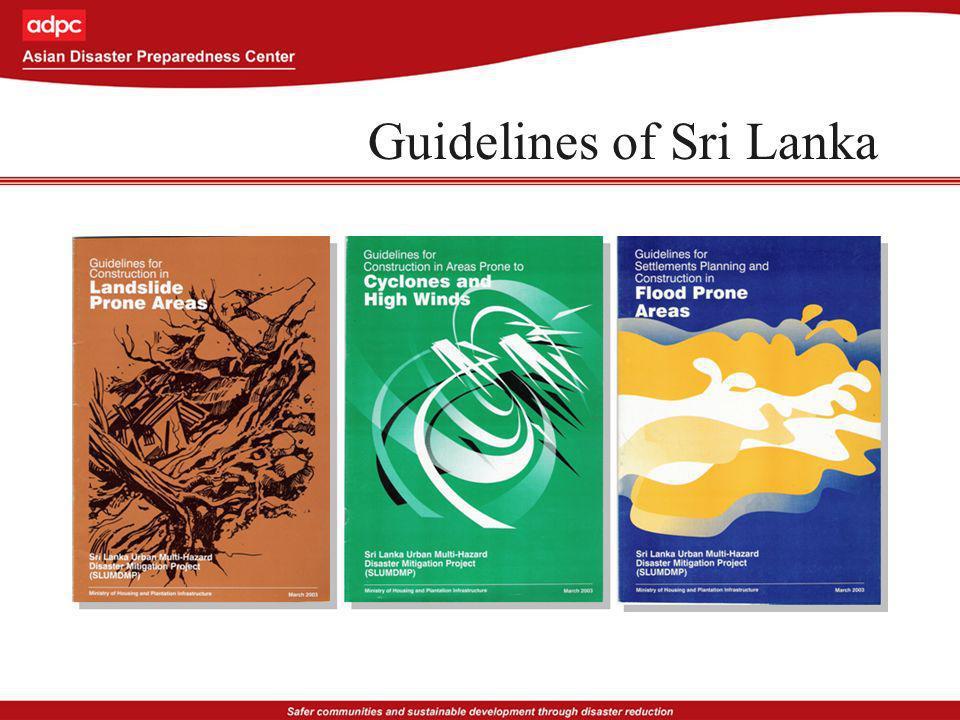 Guidelines of Sri Lanka