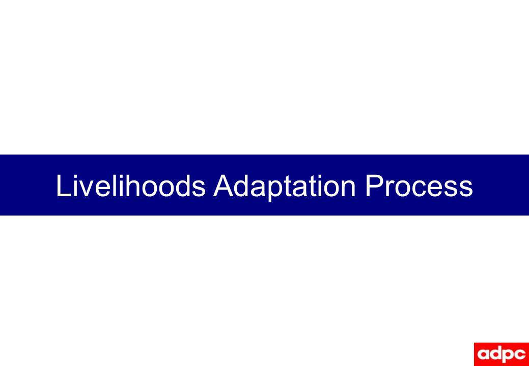 Livelihoods Adaptation Process