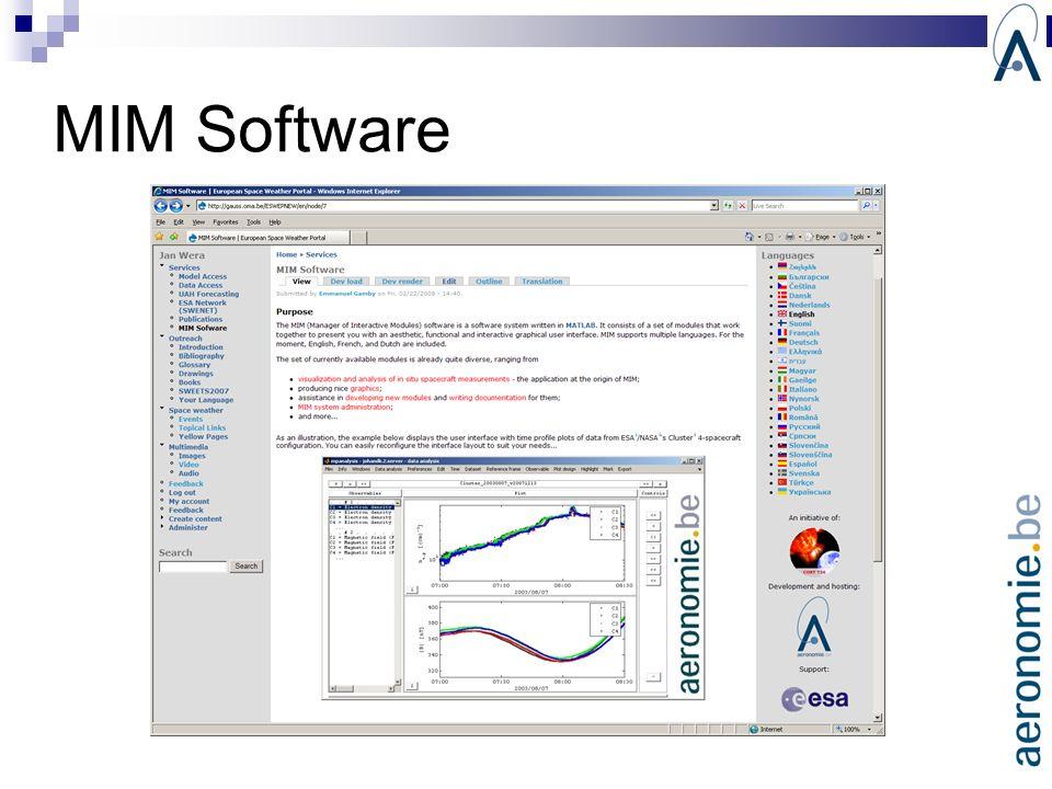 MIM Software