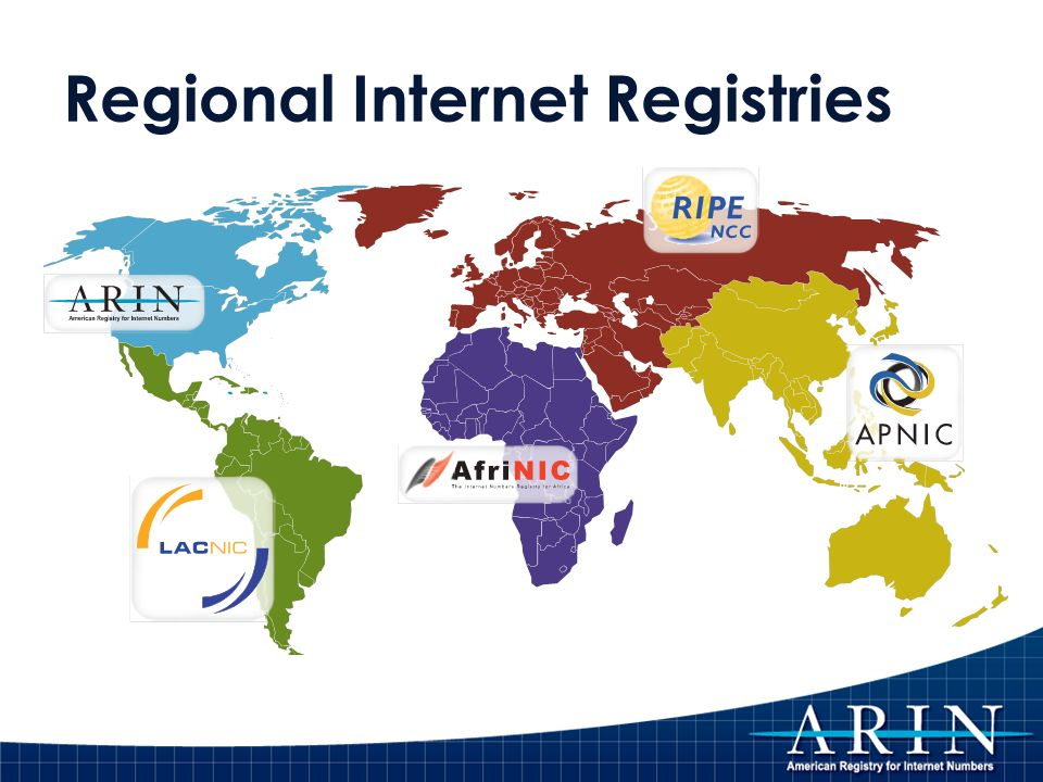 Regional Internet Registries