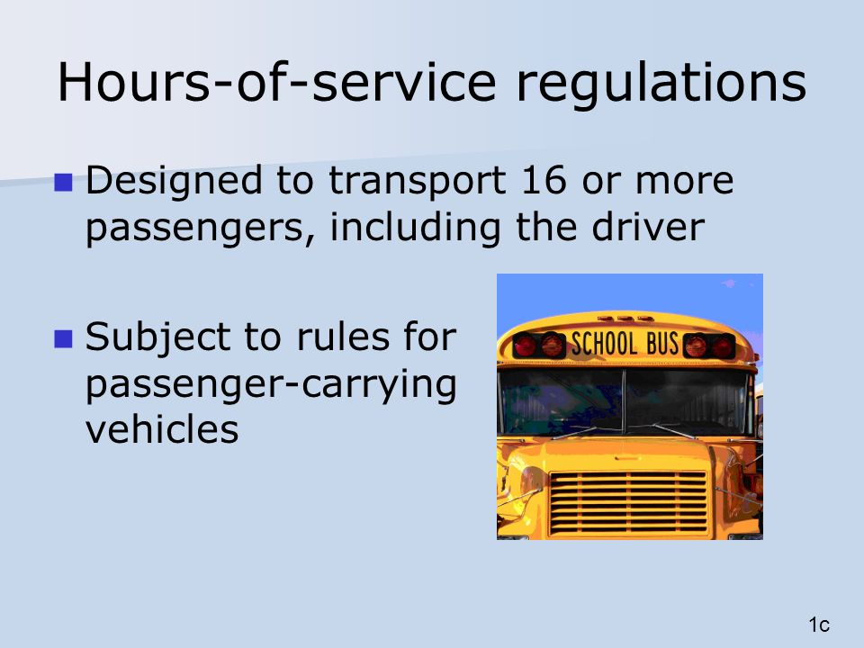 Non-CDL-driver short-haul exception Drive 11 hours within 16-hour window twice per 7 days Reset with 34-hour restart Must comply with 10-, 11-, and 60/70-hour rules May not use other short- haul exceptions 7i