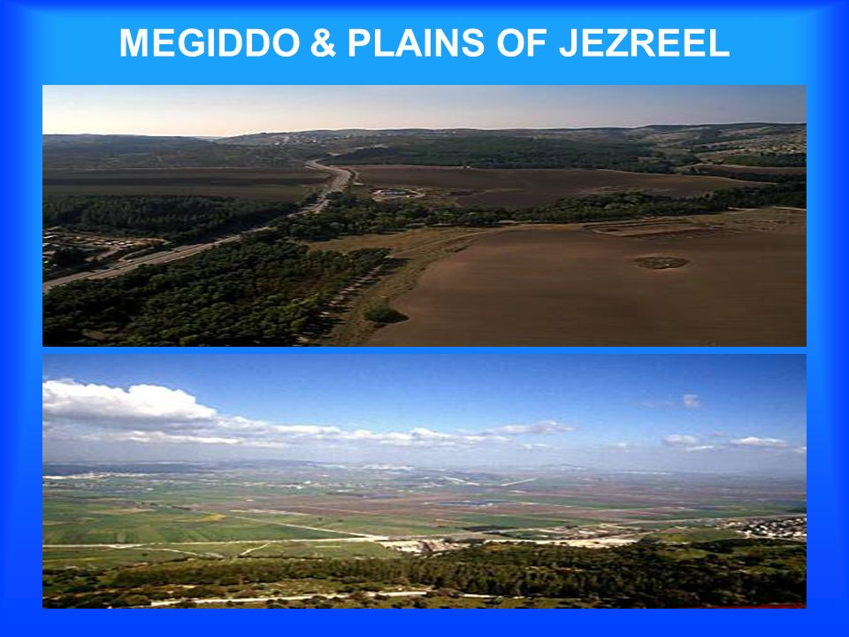 MEGIDDO & PLAINS OF JEZREEL