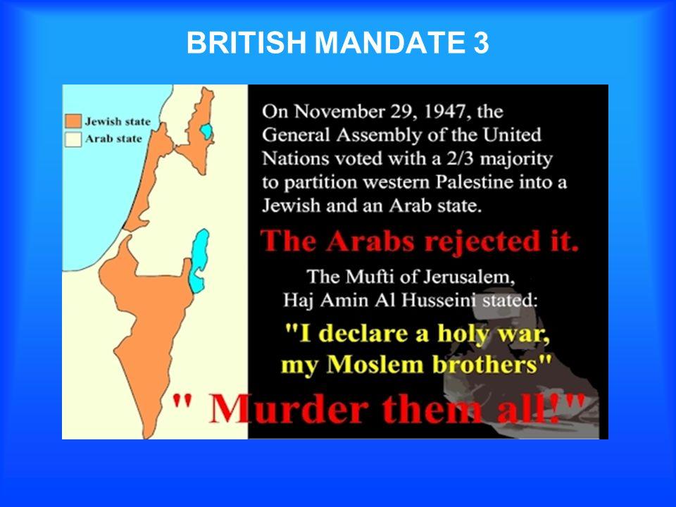 BRITISH MANDATE 3